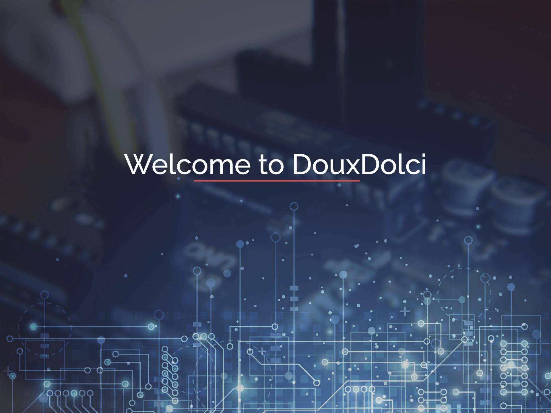 DouxDolci Web Design